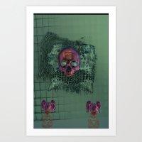 APOTHECARY'S GEIST_EMERALD 6/13/16 Art Print