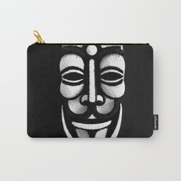 VforVendetta Mask Sculpture Carry-All Pouch