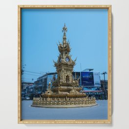 Chiang Rai Clock Tower Serving Tray