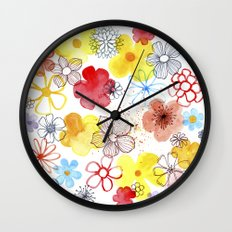 Summergarden Wall Clock