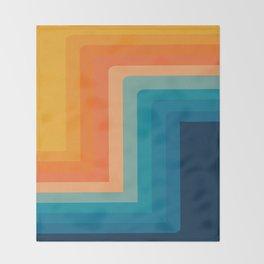 Retro 70s Color Lines Decke