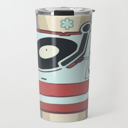 Retro Vinyl Travel Mug