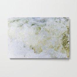 Turbulent Lake Water 12 Metal Print