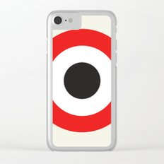 Bullseye Clear iPhone Case
