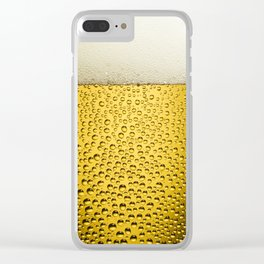 Beer Bubbles 1 Clear iPhone Case