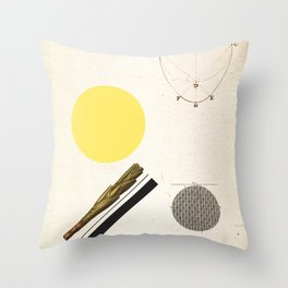 Ratios. Throw Pillow