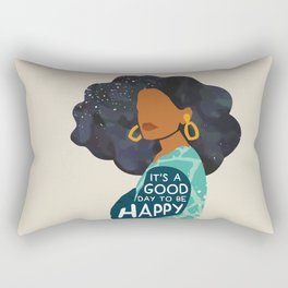 Be Happy Rectangular Pillow