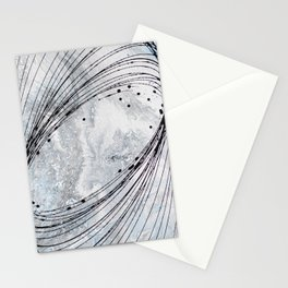 #3 MODERN ABSTRACT PAINTING Stationery Cards