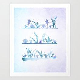 Tropical Succulent Garden Art Print