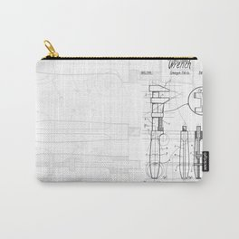 Railroad wrench patent Carry-All Pouch