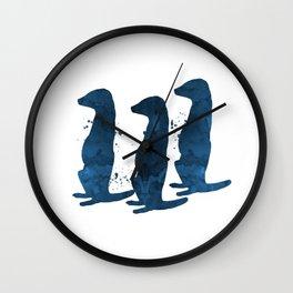 Meerkats Wall Clock