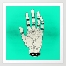 THE HAND OF DESTINY / LA MANO DEL DESTINO Art Print