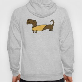 Dacshund with Sweater Hoody