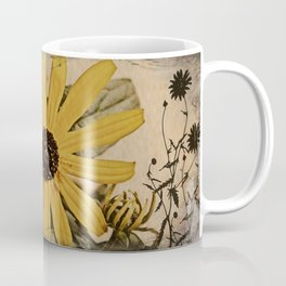 Faux Vintage Flowers  Coffee Mug