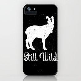 Still Wild iPhone Case