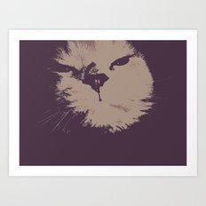 Renegade Cat Art Print