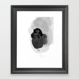 Unfortunate Birdies. Framed Art Print