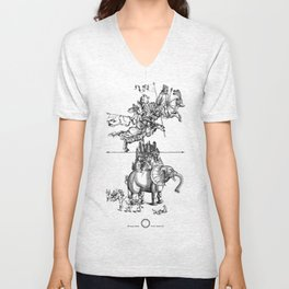 A glorious vision about the Universe as it is. Unisex V-Neck