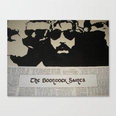 Boondock Saints Canvas Print