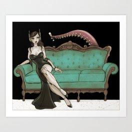 Tentacle Date Art Print