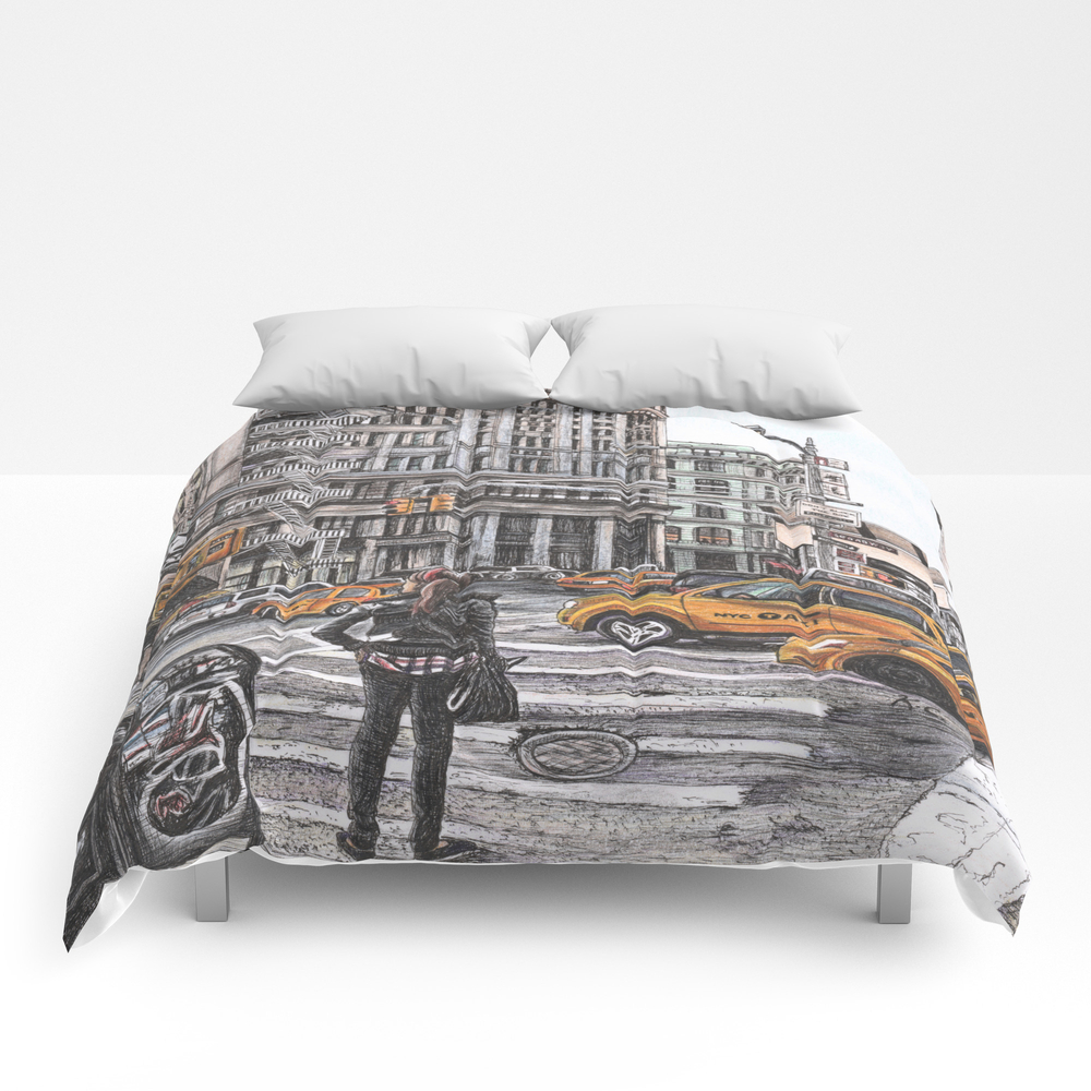New York I Love You Comforter by Kimanne CMF7686026