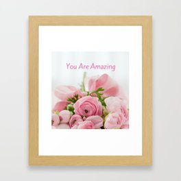 Acts of Love Framed Art Print