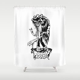Furious Fury Shower Curtain