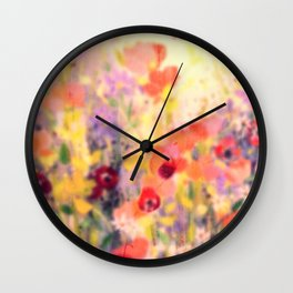 In Blooms Wall Clock