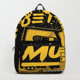 Music Makes Everything Better Backpack