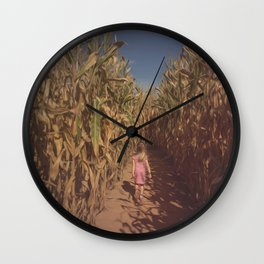 The Maize Wall Clock