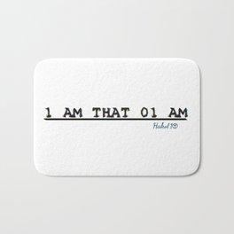 1 AM THAT 01 AM Bath Mat