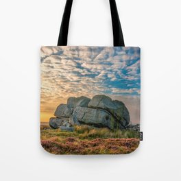 Sunset by Hitching Stone Tote Bag