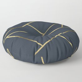 Copper and Midnight Navy #society6 #decor #buyart #artprint Floor Pillow