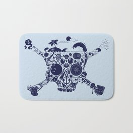 Pirates Stuff Bath Mat
