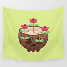 Back to nature Wall Tapestry