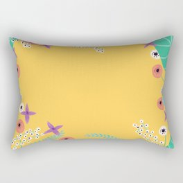 Late summer wallpaper Rectangular Pillow