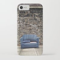 sofa iPhone & iPod Cases featuring sofa free by danielle marie