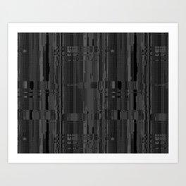 Geometric Texture Power Art Print