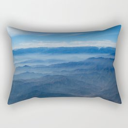 Blue in Peru Rectangular Pillow