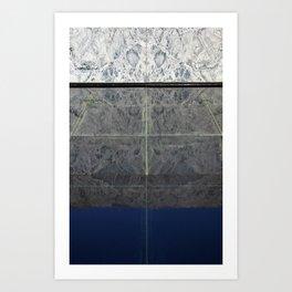 Mies Reflection Art Print