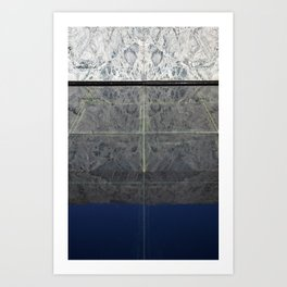 Mies Reflection Art Print