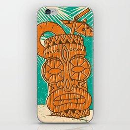 Tiki Cocktail iPhone Skin