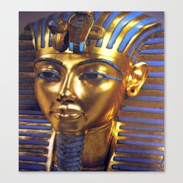Gold Mask Canvas Print