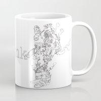 steampunk Mugs featuring Steampunk by soetam