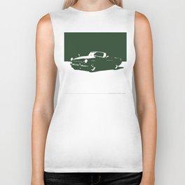 MGB, Racing Green on Cream Biker Tank