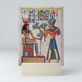 Isis On Papyrus Mini Art Print