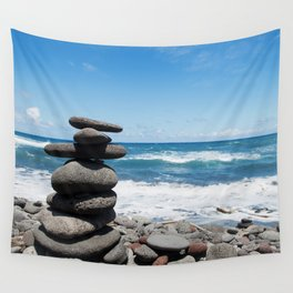 Rock tower Wall Tapestry