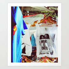 War Is Over Art Print