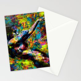 Libby dancing Stationery Cards