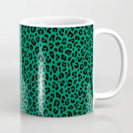 LEOPARD PRINT in GREEN | Collection : Leopard spots – Punk Rock Animal Print Coffee Mug